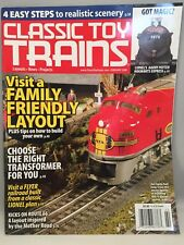 CLASSIC TOY TRAINS February 2008 Issue FLYER LAYOUT-LIONEL PLAN, ROUTE 66 LAYOUT