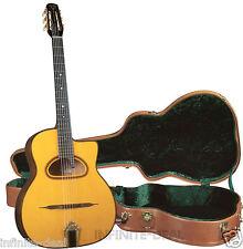NEW GITANE DG-350 Jan Akkerman Vintage Style Pro GYPSY JAZZ ACOUSTIC GUITAR Case