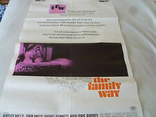VINTAGE THE FAMILY WAY POSTER 1967 WARNER BROS PAUL MCCARTNEY BOULTING BROTHERS