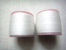 2 Spools Vanity Eyebrow Threading Thread - Eyebrow Hair Removal - 100 % Cotton