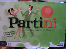 Partini - Adult Drinking Game - 6 Different Games - 4+ players - Parker Brothers