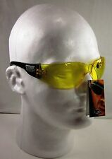 Yellow Night Glasses Motorcycle Biker Sports or ATV