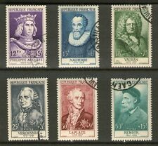 SERIE TIMBRES N° 1027-1032 OBLITERES TB