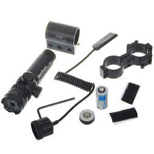 20mW Aggressivity Green Laser Rifle Scope with Gun Mount Powered by 1*CR123A