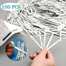 100X Aluminum Nose Bridge Strip Clips Homemade DIY Crafts Thin Accessories Wire