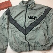 US Army IPFU Military Warmup Jacket Windbreaker Size M Regular 8415-01-465-4832