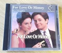 CD For Love Or Money Soundtrack Micheal J Fox OOP Big Screen Records Promo 1993