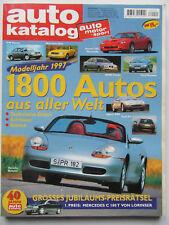 Auto-Motor-Sport Autokatalog - Modelljahr 1997