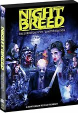 NIGHTBREED Limited BLU-RAY Box DIRECTORS CUT Clive Barker CABAL David Cronenberg