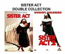 SISTER ACT PART 1 2 COMPLETE COLLECTION 2008 BRAND NEW AND SEALED UK R2 DVD