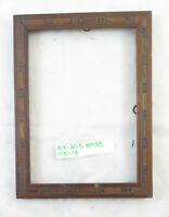 15x20 cm PICCOLA CORNICE VINTAGE PER QUADRI FOTOGRAFIE IN LEGNO INTARSIATO BM43