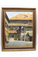 Gemälde Innenhof von Hans Härdtlein   M11B16206