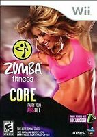 Zumba Fitness Core (Nintendo Wii, 2012) Game only. No belt included.