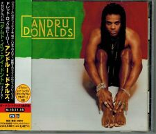"ANDRU DONALDS ""DAMNED IF I DON'T"" CD JAPAN SINEAD O'CONNOR CRETU ERIC WHITE OBI"