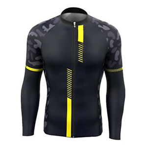 Men Cycling Jersey Long Sleeve Bike Motocross MTB Shirt Teams Jacket Clothes Top