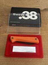 Tres Rare Couteau Vintage EKA SWEDE 38 Avec Coffret pierre à aiguiser