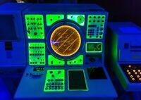 A4  Marine Radar Navigation Poster Size A4 Deep Sea Ocean Poster Gift #16570