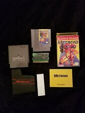 Metroid Nintendo NES CIB Complete Classic Series Yellow Complete in box Manual