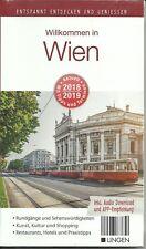 Reiseführer Stadtplan Wien + Metro-Plan u APP Entspannt entdecken 2018/2019 OVP
