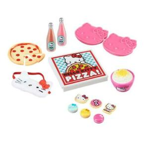"""Hello Kitty Sleepover Accessories play set 18"""" American girl doll My life 14pc."""