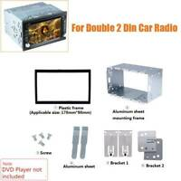 For Double Din Car Stereo Radio Player in Dash Install Mounting Installation KIT