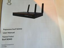Pepwave Surf SOHO Professional Grade Router, New In Open Box