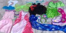 PRINCESS DRESS UP Mix Disney Pretend Costume Lot Girls Sz  2t 3t Gown