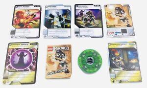 LEGO   NINJAGO SPINNER & Cards  (for KRUNCHA Spinjitzu Minifigure  2174-1)