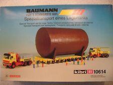 Kibri HO 10614 Baumann Mercedes Benz Scheuerle Special Transport for Larger Tank