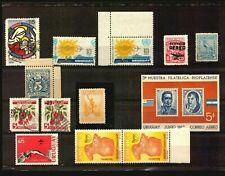 Uruguay stamp errors varieties oddities essay train ship plane bird christmas