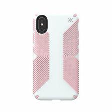 Speck Presidio Grip iPhone X Dove Grey Island Pink