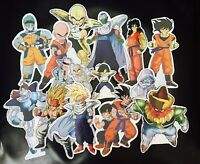 DRAGONBALL Z laser Holo Foil Stickers 41 stickers Set of 6 sheets of stickers