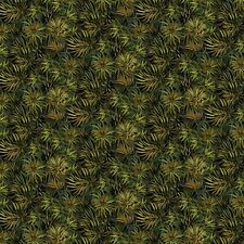 Green  #82-76 Naturescapes Stonehenge Quilt Fabric by the 1/2 yard