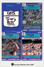 1990 Stimorol AFL Trading Cards Club Team Set Geelong (12)