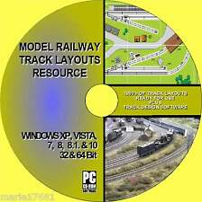 MASSIVE MODEL RAILWAY TRACK LAYOUT COLLECTION MULTI GUAGE HORNBY OO Etc NEW PCCD