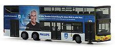 MAN Lion's Ville DL 07 BVG Philips DD-autobus 1:160 Rietze