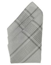 BW Taschentuch Taschentücher 12er Set Schnauztuch Baumwolle Grau 50x50cm