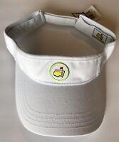 2019 Masters golf visor white low rider round logo ladies new pga