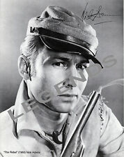 "NICK ADAMS  JOHNNY YUMA ""THE REBEL"" 1960 AUTOGRAPHED REPRINT,  8""x10"""