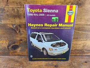 Service Repair Manuals For Toyota Sienna For Sale Ebay