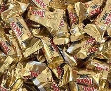 TWIX Mini Milk Chocolate Caramel Candy Bar, Bulk Pack 3 Lbs Bar