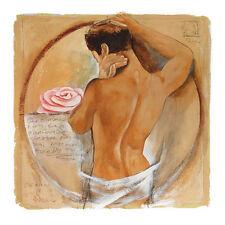 Talantbek Chekirov Thoughts of Beauty Poster Kunstdruck Bild 64x64cm - Portofrei