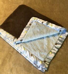 Carters Blanket Child Of Mine Brown Blue