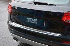 Pour Audi q2 (2017 Chrome Pare-Chocs Protection Rayures Protection