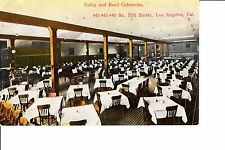 Los Angeles, Ca Colby And Reed Cafeteria @ 1910