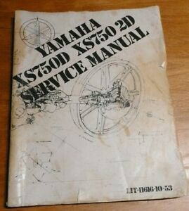 Xs750 Motorcycle Service Repair Manuals For Sale Ebay