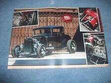 "1930 Ford High Boy 5-Window Hot Rod Article ""Supercharged Model A"" H&H Flatheads"