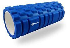 Cilindros de espuma de gimnasio azul