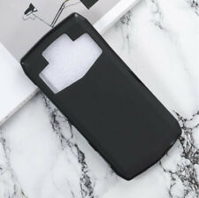 For Ulefone Power 5 Black TPU Matte Rubber Silicone Case Cover