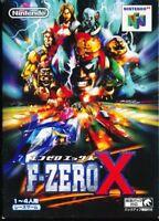 F-zero X Nintendo 64 Import Japan N64 F zero